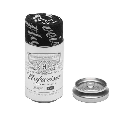 HUF BUDWEISER SOCK BEER CAN GIFT PACK