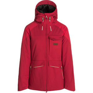 RIP CURL - HARMONY WOMENS JACKET - RED ORCHID
