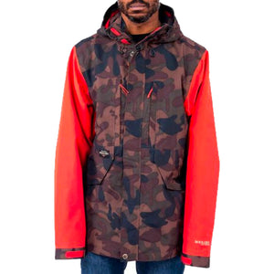 HOLDEN SEVILLE MENS JACKET INK/POPPY