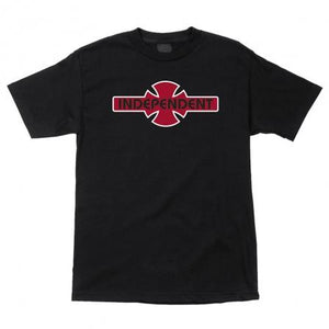 INDEPENDENT OGBC LOGO YOUTH TEE - BLACK/RED