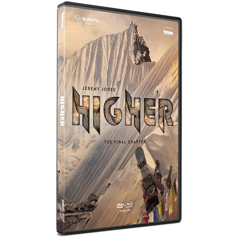 "JONES - ""HIGHER THE FINAL CHAPTER"" - BLU RAY/DVD"