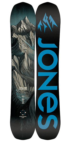 Jones - Explorer - Men's Snowboard - 2019 - Ballistyx Snowboard Store