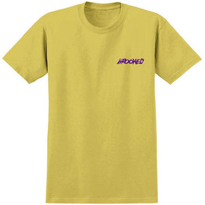 KROOKED MOON SMILE TEE YELLOW PURPLE