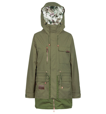 L1 EMMA WOMENS JACKET MILITARY