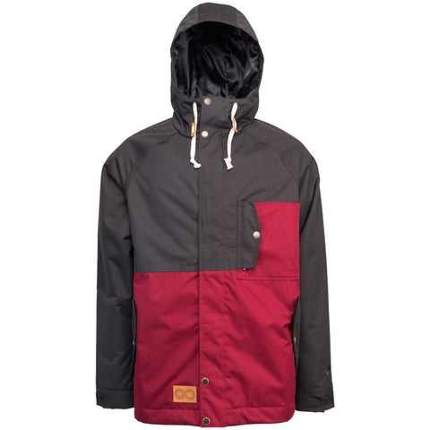 L1 LEGACY MENS JACKET - RAVEN/OX BLOOD