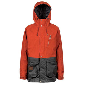 L1 LEGACY MENS JACKET - RUST