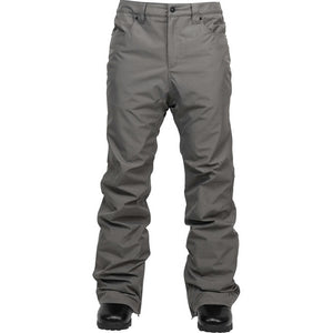 L1 - BASIC SLIM MENS SNOWBOARD PANTS - DARK GREY