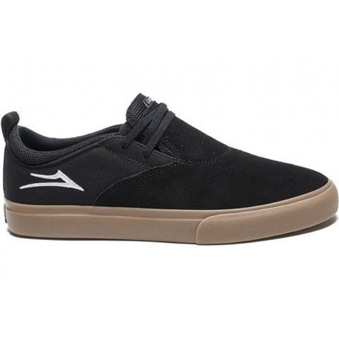 LAKAI RILEY HAWK 2 - BLACK/GUM SUEDE