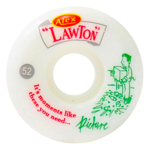 PICTURE - ALEX LAWTON MOMENTS PRO 83B CONICAL SHAPE WHEELS 52MM