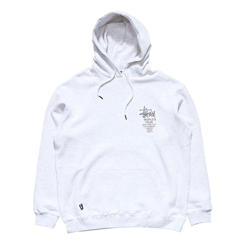 STUSSY WORLD TOUR HOOD - SNOW MARLE