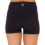 UNIT WOMENS MOTION MINI SHORTS - BLACK