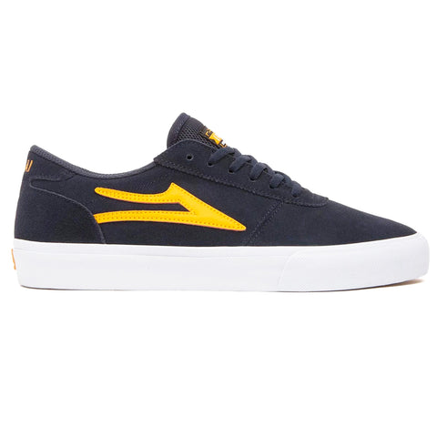 LAKAI MANCHESTER - NAVY/ORANGE SUEDE