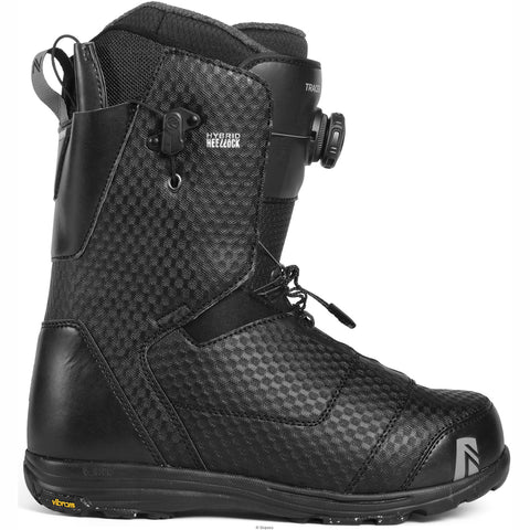 NIDECKER TRACER HEEL-LOCK COILER 2019 BOOT BLACK