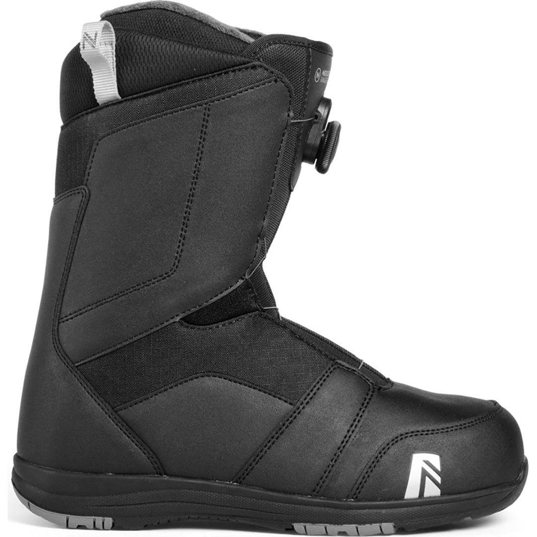 NIDECKER - RANGER BOA 2019 - MENS SNOWBOARD BOOT - BLACK