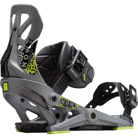 NOW BRIGADE 2019 BINDINGS GREY