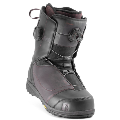 NIDECKER LUNAR COILER 2020 WOMENS BOOT BURGUNDY