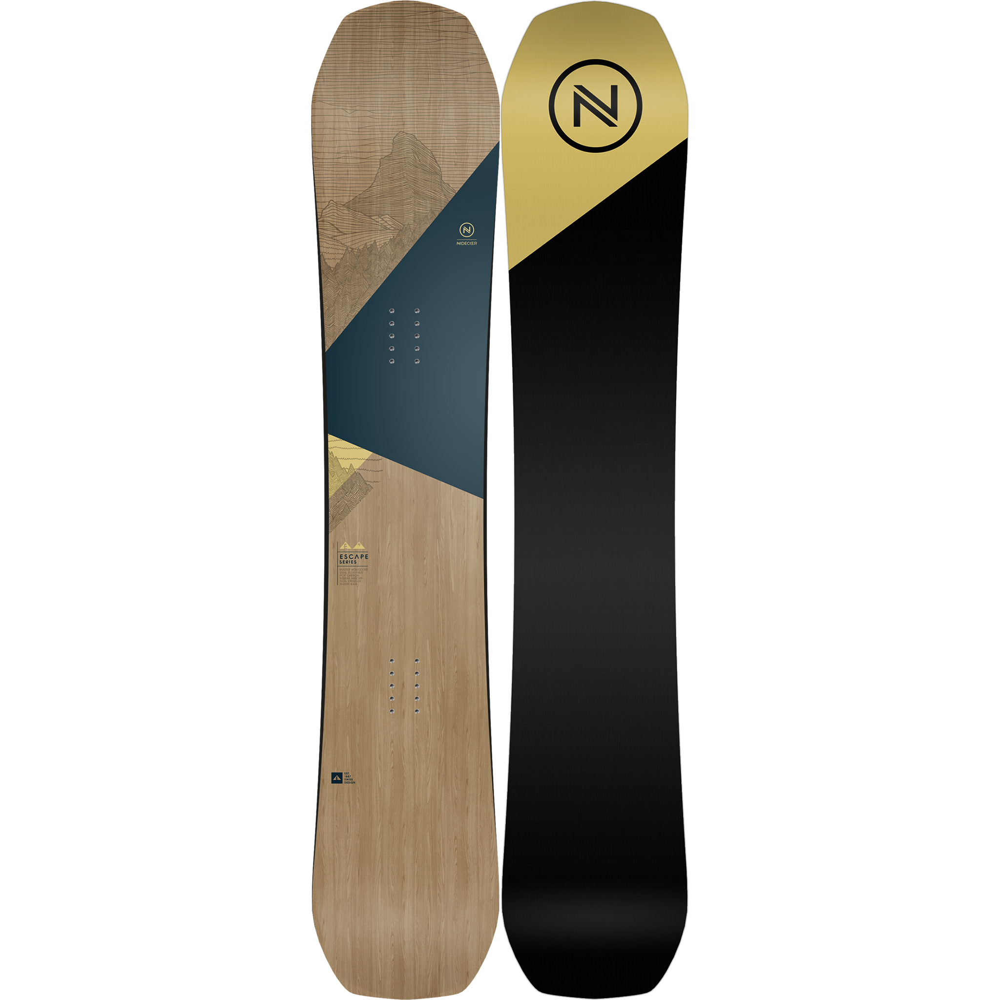NIDECKER ESCAPE 2019 SNOWBOARD