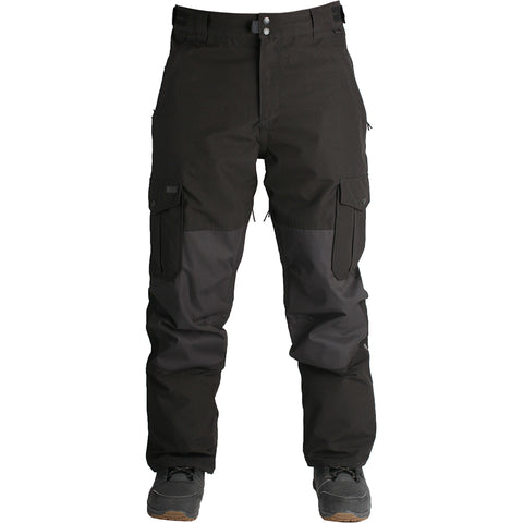 RIDE - PHINNEY SHELL 2019 - MENS SNOWBOARD PANTS - BLACK