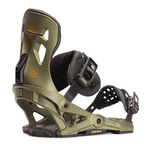 NOW PILOT 2020 BINDINGS GREEN