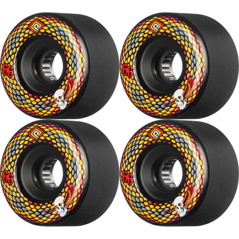 POWELL PERALTA - SNAKES WHEELS - 66MM 75A - BLACK