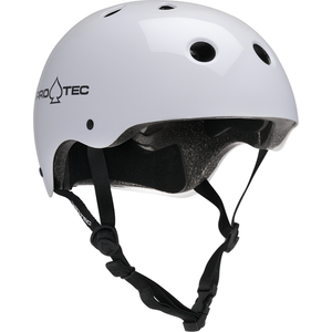 PROTEC - CLASSIC CERTIFIED HELMET - GLOSS WHITE
