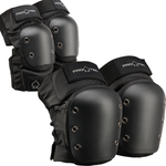 PROTEC STREET KNEE/ELBOW PADS PACK BLACK