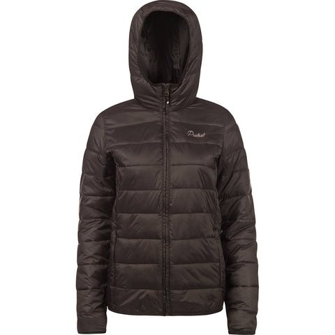 PROTEST - SOY PUFFER - WOMENS JACKET - TRUE BLACK
