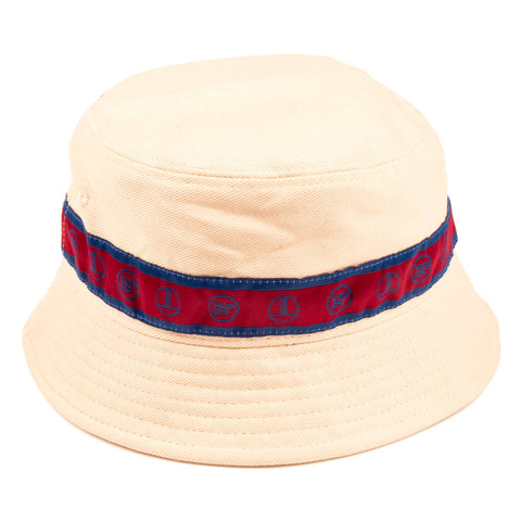 PASSPORT L.L. RIBBON BUCKET HAT NATURAL