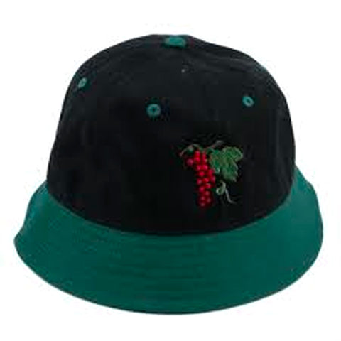 PASSPORT LIFE OF LEISURE 6 BUCKET HAT FOREST GREEN/BLACK