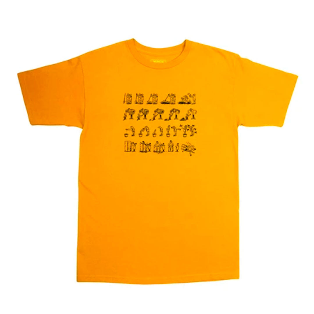 PASSPORT W.C.W.B.F TEE GOLD