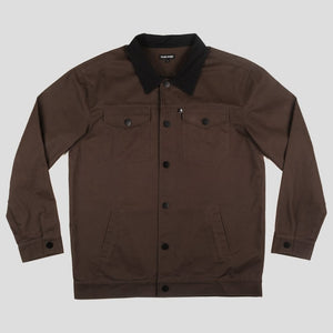 PASSPORT WORKERS LATE JACKET DARK BROWN