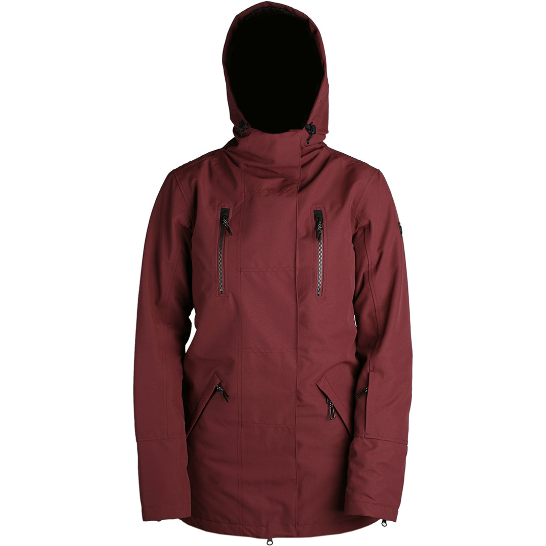 RIDE - RAVENNA INSULATED 2019 - WOMENS JACKET - BURGUNDY