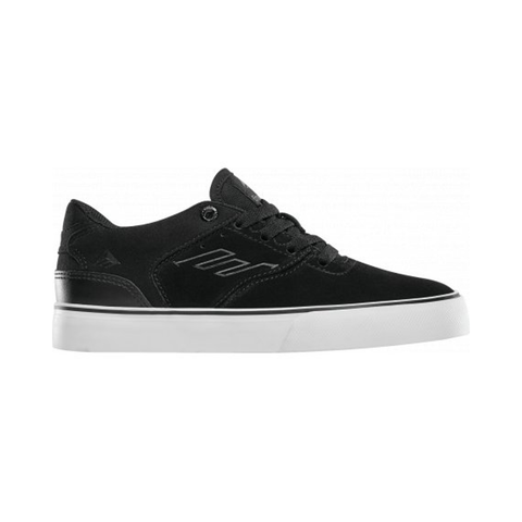 EMERICA REYNOLDS LO VULC YOUTH SHOE - BLACK/WHITE