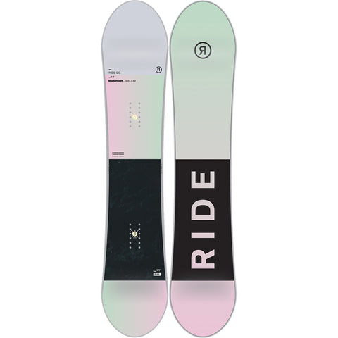 RIDE COMPACT WOMEN'S SNOWBOARD 2019