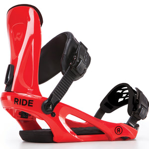 RIDE KX 2018 BINDINGS RED