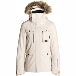 RIP CURL - CHIC FANCY WOMENS JACKET - CRYSTAL GREY