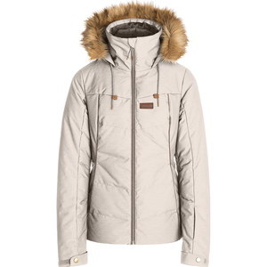 RIP CURL - FURY WOMENS JACKET - CRYSTAL GREY