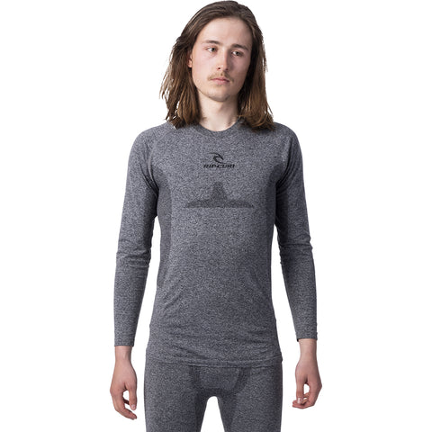 RIP CURL - GUM BASE LAYER TOP 2020 - JET BLACK