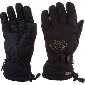 RIP CURL - WOMENS RIDER GLOVES 2020 - JET BLACK