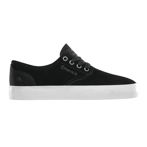 EMERICA ROMERO YOUTH SHOE BLACK/WHITE