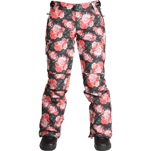 RIDE - ROXHILL 2019 - WOMENS PANTS - ROSE PRINT