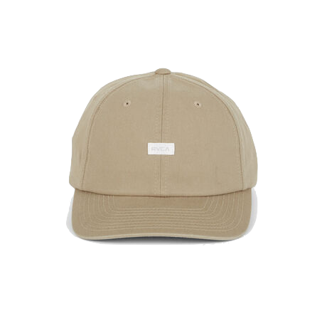 RVCA FOCUSED CAP - DARK KHAKI