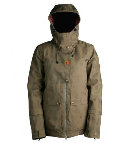 RIDE MAGNOLIA WOMENS JACKET - OLIVE WASH OUT