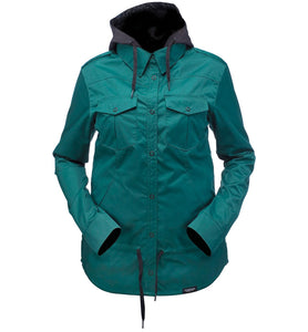 RIDE SHACKET WOMENS JACKET PINE