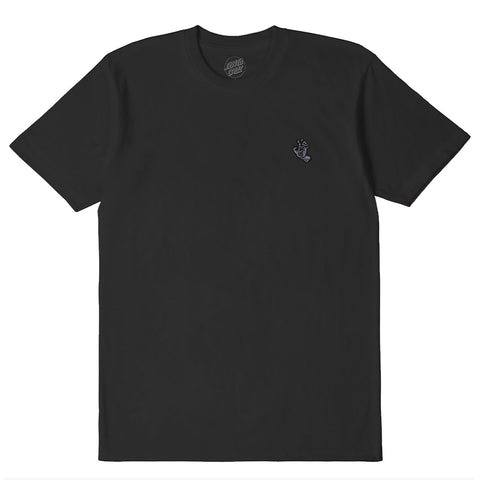 SANTA CRUZ SCREAMING MONO HAND TEE- ANTIQUE BLACK