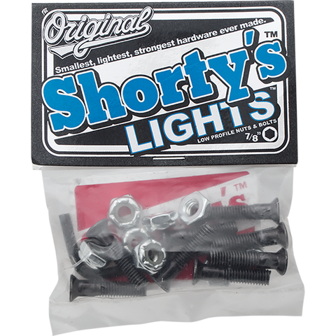 "SHORTYS LIGHTS 7/8"" DECK BOLTS"