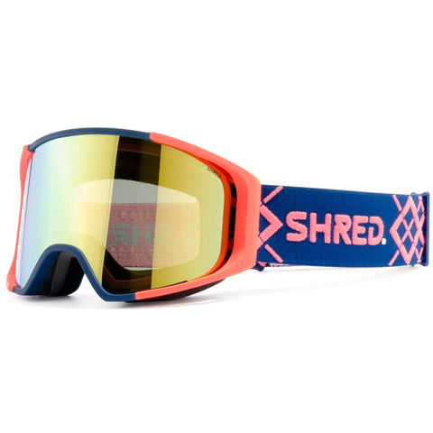SHRED - SIMPLIFY GOGGLES 2019 - BIGSHOW NAVY/RUST
