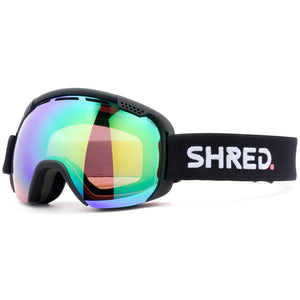 SHRED - SMARTEFY GOGGLES 2019 - BLACKOUT CBL PLASMA