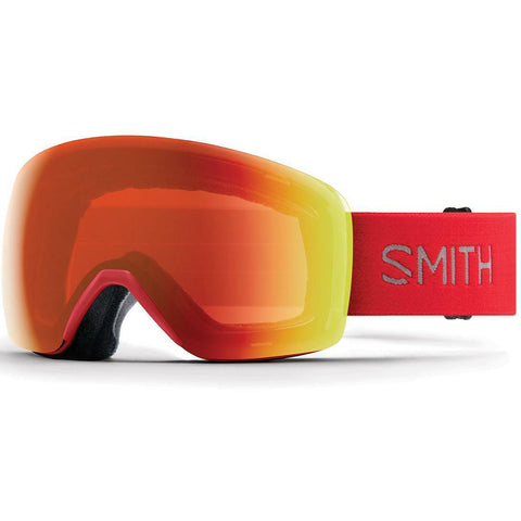 SMITH - SKYLINE GOGGLES RISE - CHROMAPOP EVERYDAY RED MIRROR