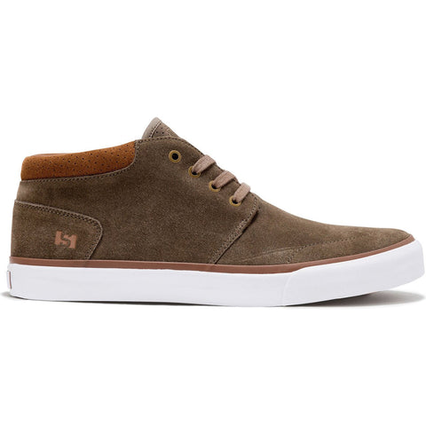 STATE - ALBANY - WALNUT/WHITE/GUM SUEDE